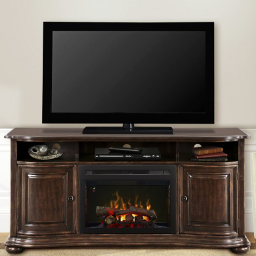 Dimplex Henderson Media Console Electric Fireplace ...