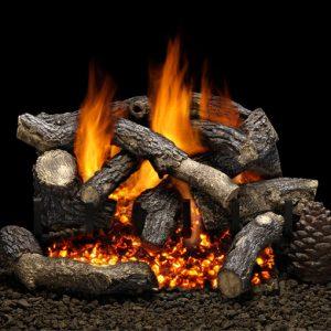 Golden Blount Big Tex Vented Gas Log Set Michigan Fireplace And