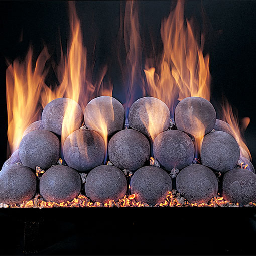 Rasumessen Fire Stones Vented Gas, Fire Stones For Fireplace