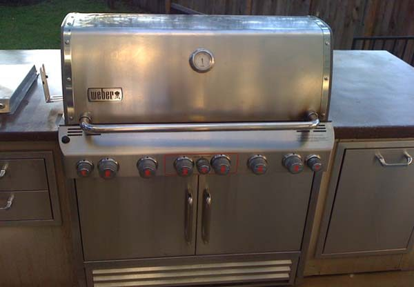 Weber S 660 >> Weber Summit S 660 Built In Michigan Fireplace And Barbeque