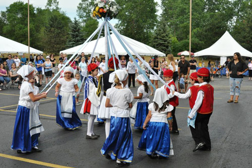 Opa Fest in Troy MI happens towards the end of June. Everyone can come to help them celebrate their national heritage