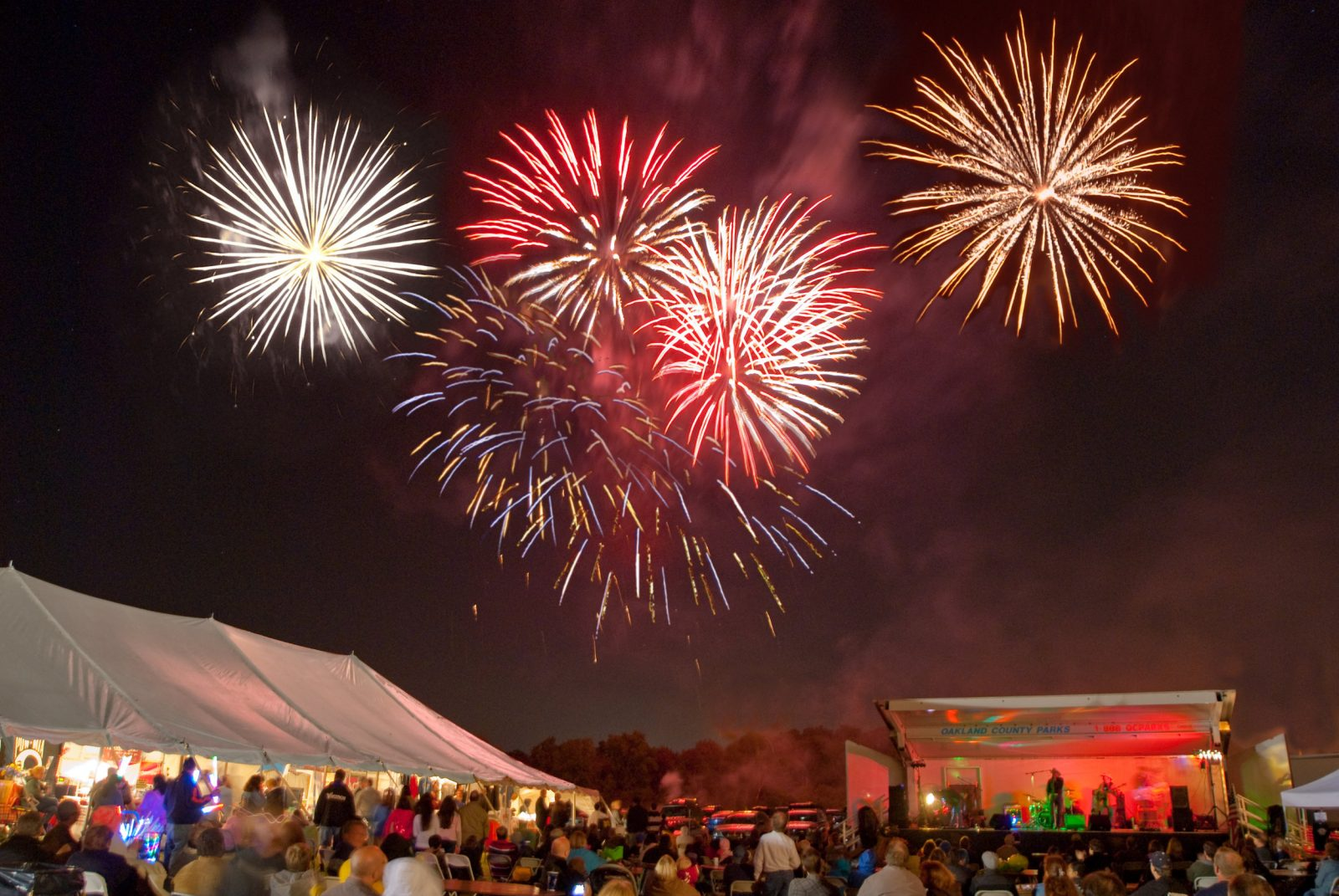 Enjoy the fireworks in Troy MI along with other annual events in the area like the daze festival